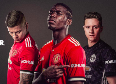 f024ef2d7 Man United announce their first shirt sleeve sponsorship deal · The42