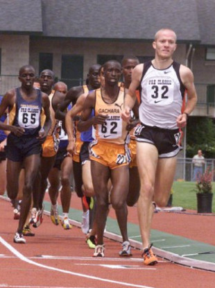 Irish athlete Andrew Walker.