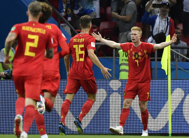 Belgium survive Brazil second half surge to book World Cup semi-final spot 14c7dbb21aff9