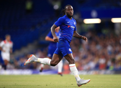 Victor Moses (file pic).