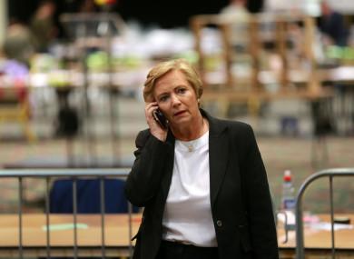 Former Minister for Justice Frances Fitzgerald