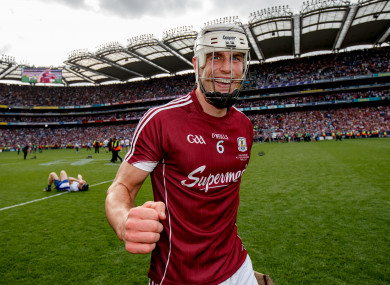 Gearoid McInerney after last year's decider.