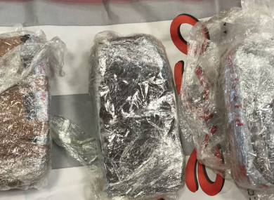 The seized drugs