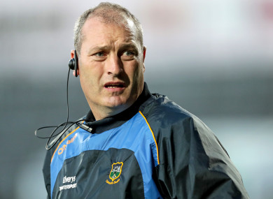 Tipperary manager Liam Cahill during last night's All-Ireland U21 semi-final against Galway.