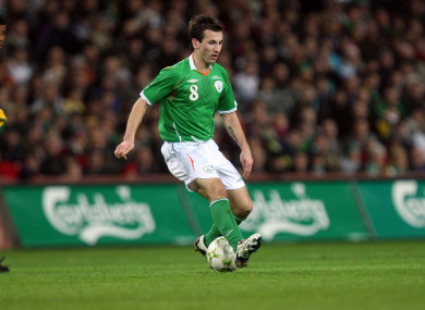 Former Republic of Ireland international Liam Miller.