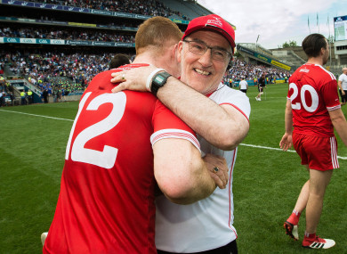 Tyrone manager Mickey Harte.