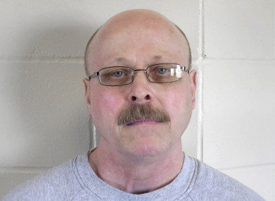 Photo provided of Moore on death row.