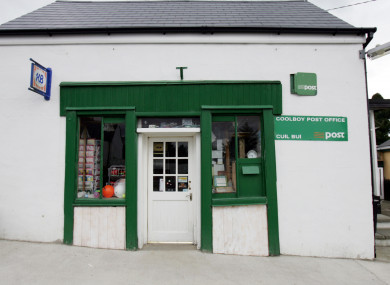 Coolboy Post Office in County Wicklow.