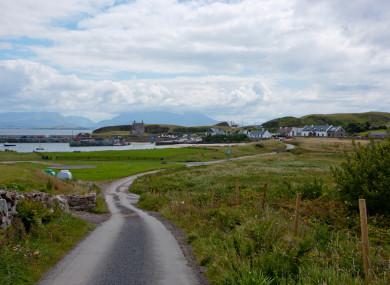Clare Island, Co Mayo.