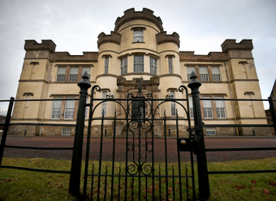 A view of the former Smyllum Park Orphanage in Lanark.
