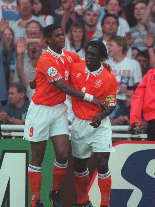 Seedorf and Kluivert spent a decade playing together with the Netherlands.