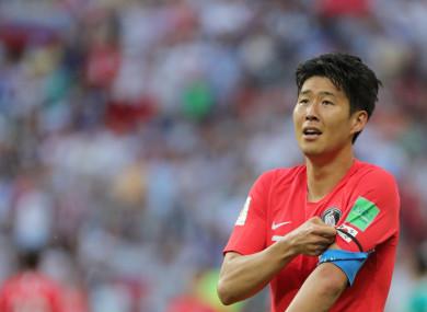 Tottenham forward can still avoid military service as South Korea ... 07d6eb97b