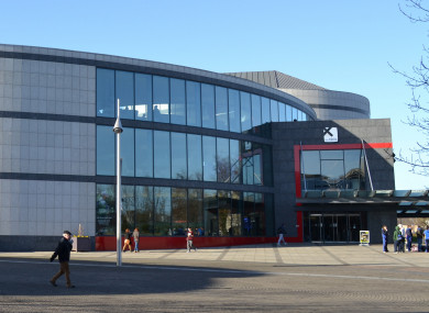Dublin city university henry grattan building