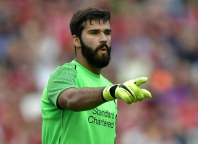 The 'keeper has made a strong start to life at Anfield.