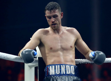 Callum Smith during the World Boxing Super Series.