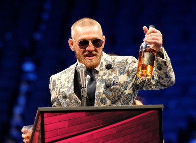 34c5531d Conor McGregor's plan to release a Notorious whiskey brand has been iced