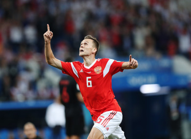 He scored four goals at this summer's World Cup finals in his homeland.