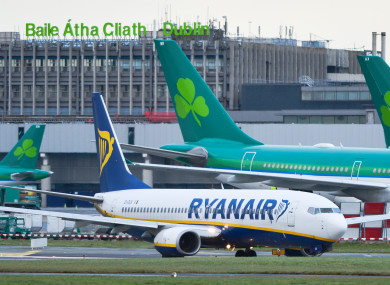 Man Arrested At Dublin Airport For Chasing Plane Onto Tarmac After