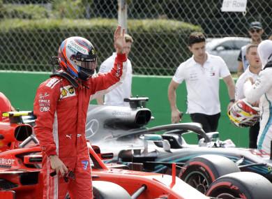 Raikkonen: last Monza pole was in 2006.