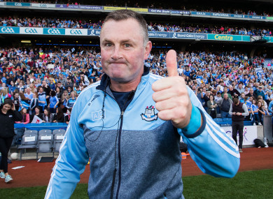 Back-to-back All-Ireland winning manager Mick Bohan.