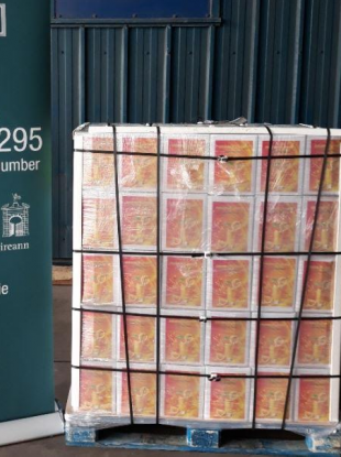 Sangria seized by Revenue officials in Rosslare