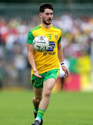 Donegal footballer Ryan McHugh.