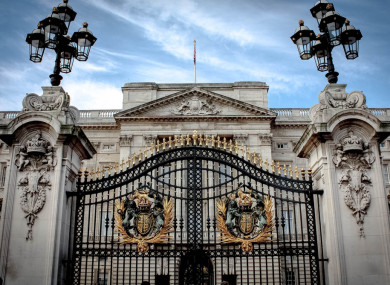File photo of Buckingham Palace gate