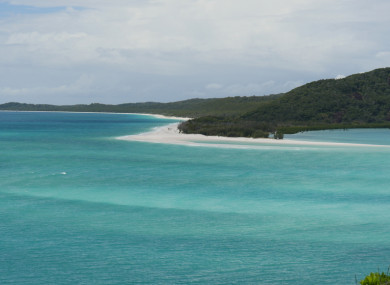 The Whitsundays region of Queensland.