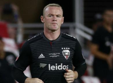 DC United's Wayne Rooney.