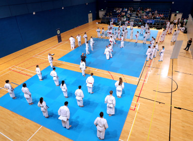 Dispute: Irish karate in disarray ahead of next month's World Championships.