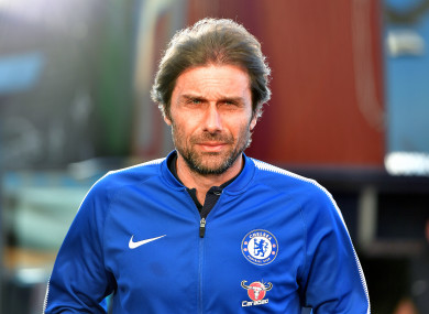 Antonio Conte led Chelsea to the Premier League and the FA Cup.