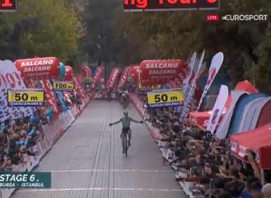 Bennett: seven stage wins in two years at the Tour of Turkey.