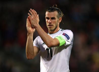 Wales captain Bale.