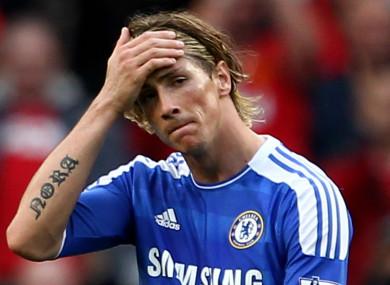 Fernando Torres (file pic).