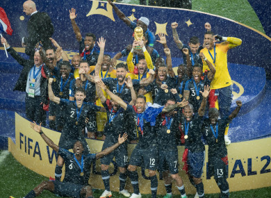 France defied poor stats to win 2018 World Cup, says Fifa