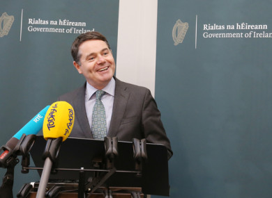 Minister for Finance and Public Expenditure and Reform, Paschal Donohoe