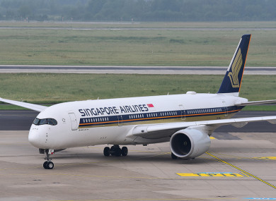 From Singapore to New York - world's longest non-stop flight set for