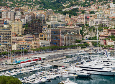 The billionaire owned property in Monaco