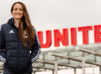 Manchester United manager Casey Stoney.