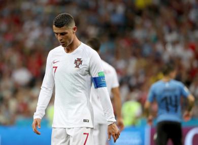 Portugal captain, Cristiano Ronaldo (file photo).