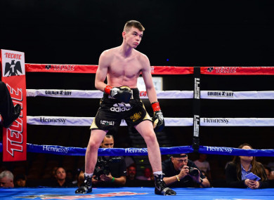 Aaron McKenna improves to 6-0, 4KOs with last night's victory