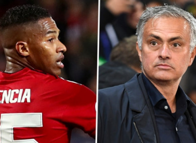 Antonio Valencia says his absence from the United side is a