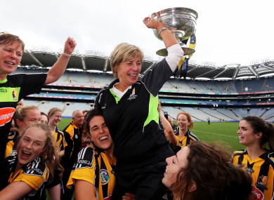 Ann Downey steered the Cats to glory in 2016.
