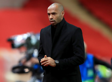 Monaco remain winless under Thierry Henry.