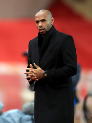Thierry Henry (file pic).