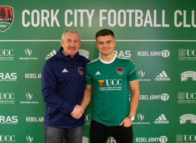 O'Connor put pen to paper today.