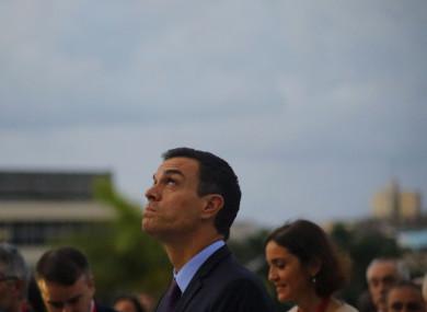Spanish Prime Minister Pedro Sanchez.
