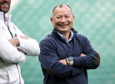 England head coach Eddie Jones pictured before Saturday's defeat to New Zealand at Twickenham.