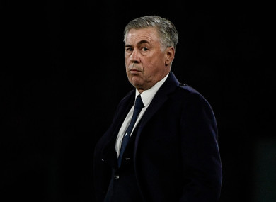 Ancelotti is confident his side can complete the job against the Reds.