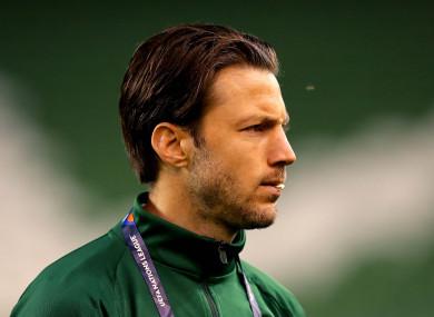 Ireland midfielder Harry Arter